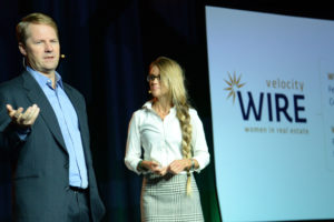 Chris Farrar and Nicole Curtis announce WIRE